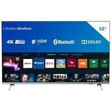 """Smart TV LED 58"""" 4K Philips"""