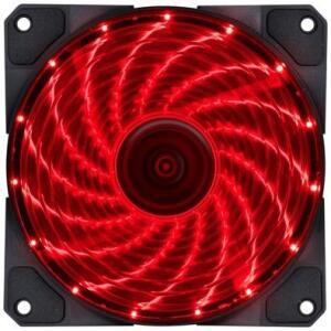 Cooler FAN Vinik VX Gaming, 120mm, LED Vermelho