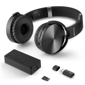 Kit Multilaser Music Play - Headphone Bluetooth + Power Bank 4000mAh + Leitor USB + Micro SD 32GB