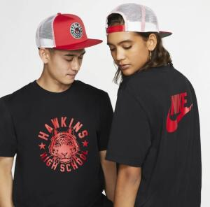 Boné Nike x Stranger Things Pro VERMELHO