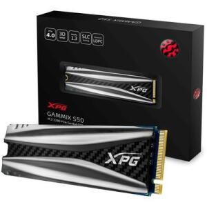 SSD XPG Gammix S50, 1TB, M.2, PCIe, Leituras: 5000Mb/s e Gravações 4400Mb/s