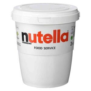 [CC Shoptime R$ 124,51] Nutella 3kg Creme De Avelã Ferrero De Balde - R$ 128