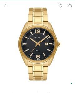 Relógio analógico orient masculino.