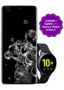 Smartphone Samsung Galaxy S20 Ultra, Cinza, 128GB, Câm. Quádrupla