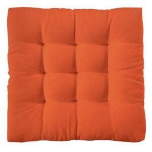 Jogo (16) Assentos Para Cadeira Futton 40x40 Laranja