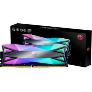 Memória XPG Spectrix D60G RGB 8GB, 3000MHz, DDR4, CL16, Cinza - AX4U300038G16A-ST60 - R$ 298