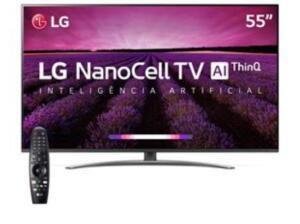Smartv LG nanocell 55 | R$2739