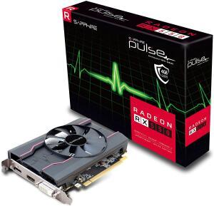 Placa De Video Sapphire Radeon Rx 550 4gb Pulse Ddr5 128bits | R$613