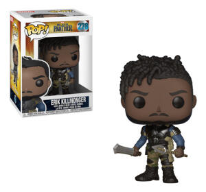 Boneco Funko Pop Marvel Black Panther - Erik Killmonger | R$ 49