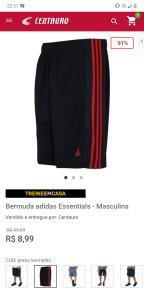 Bermuda Adidas | R$ 9
