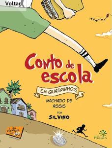 E-book: Conto de escola em quadrinhos, Machado de Assis por Silvino