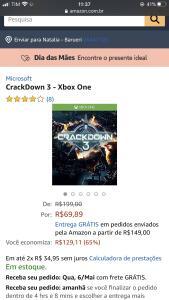 Jogo crackDown 3