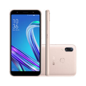 Smartphone Asus Zenfone Max (M3), 64GB, Dourado, 4G, Tela 5´5 | R$ 849