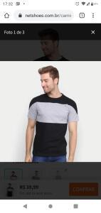 Camiseta industrie 3 por 99 ou 2 por 99!!!