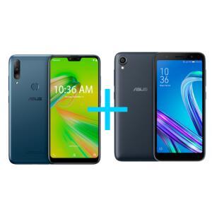 ZenFone Max Shot 4GB/64GB Azul + Zenfone Live L2 OctaCore 435 Preto
