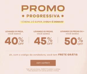 Promo Progressiva Farm - Até 50% OFF