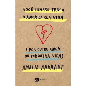 Livro - Você sempre troca o amor da sua vida (por outro amor ou por outra vida)