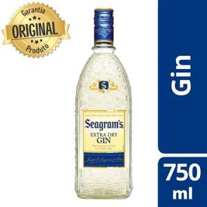 Gin Seagrams 750 ml | R$44