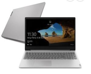 Notebook Lenovo Ideapad S145 Ryzen 7 8GB SSD 256GB | R$3.134
