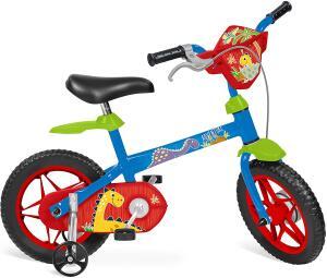 """Bicicleta 12"""" Adventure Bandeirante Azul R$ 193"""