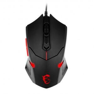 Mouse Gamer MSI Interceptor DS B1 1600DPI US Preto - R$30