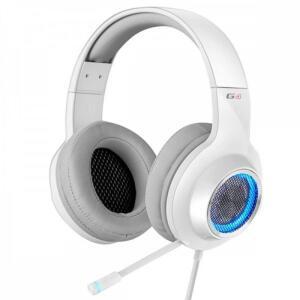 Fone Headset Gamer USB LED Edifier G4 7.1 Branco