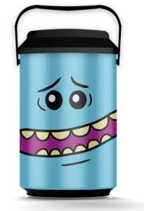 [PRIME] Cooler Ricky e Morty - 10 Latas, Beek Geek's Stuff, Azul, Mr Meeseeks