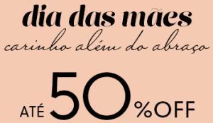 Até 50% OFF em presente de Dia das Mães | OQ Vestir