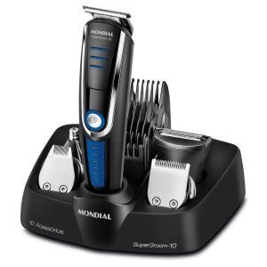 Conjunto Mondial Especial Barber KT 84 – Preto   R$110