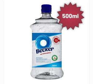 Álcool em Gel Becker 70% 500ml | R$ 10
