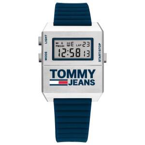 Relógio Tommy Jeans Masculino Borracha Azul  R$ 245