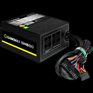 Fonte Gamemax GM600 600W, 80 Plus Bronze, PFC Ativo, Semi Modular | R$320