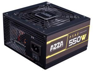 Fonte Gamer Azza 550w 80 plus bronze pfc ativo psaz-550w | R$230