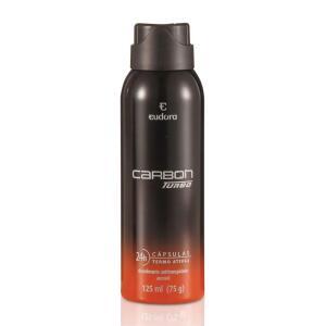 Carbon Turbo Desodorante Antitranspirante Aerosol Masculino 125ml - 2 un | R$23
