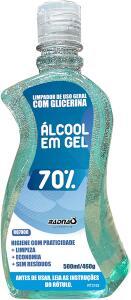 [PRIME] Álcool Em Gel 70% - 460G/500Ml Radnaq | R$11