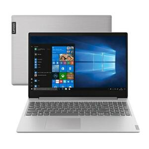 "Notebook Lenovo Ultrafino Ideapad S145 Celeron Tela 15,6"" Memória RAM 4GB HD 500GB Windows 10 Geforce Prata"
