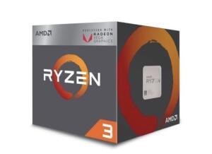 Processador AMD Ryzen 3 2200G, Cooler Wraith Stealth, Cache 6MB, 3.5GHz | R$ 550