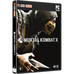 Mortal Kombat X - PC Mídia Física