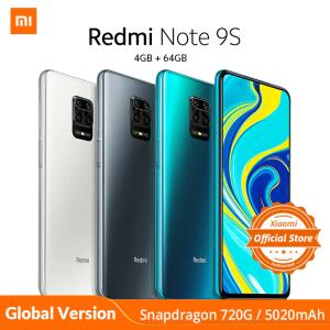 Xiaomi redmi nota 9 s nota 9 s 4 gb 64 gb versão global smartphone
