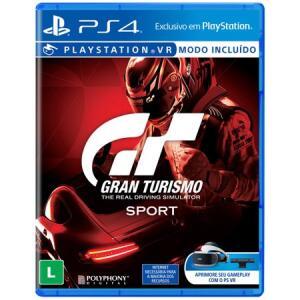 Gran Turismo Sport para PS4 R$ 49
