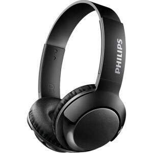 Fone de Ouvido Philips Bluetooth Preto Sem Fio Shb3075bk/00 Bass+ On Ear - Preto