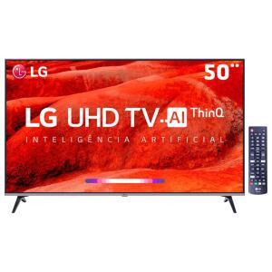 "Smart TV LED 50"" UHD 4K LG 50UM7510PSB R$1999,00"