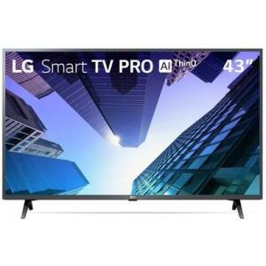 "Smart TV LG 43"" Full HD Bluetooth, Wi-Fi, Active HDR, ThinQ AI - 43LM631C0SB.BWZ"