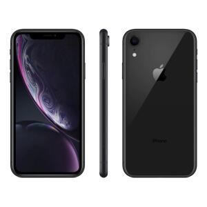 "iPhone XR Apple Preto 64GB, Tela Retina LCD de 6,1"", iOS 12, Câmera Traseira 12MP,"