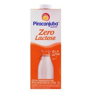 [Center Shop - Mercado Ifood] Leite Piracanjuba Semidesnatado Zero Lactose - 1 litro