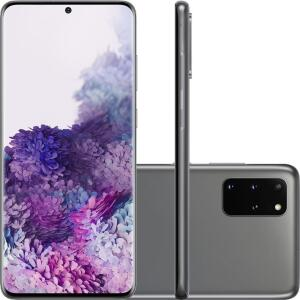 [R$4.999 Super cashback com AME] -Smartphone Samsung Galaxy S20+ - Cosmic Gray