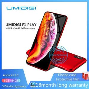 "UMIDIGI F1 Jogo Android 9.0 Câmeras 5150 mAh 48MP + 8MP + 16MP 64 6 GB RAM GB ROM 6.3 ""FHD octa core"