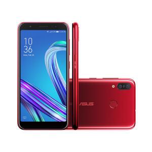 Smartphone Asus Zenfone Max M3 64GB Red | R$ 799
