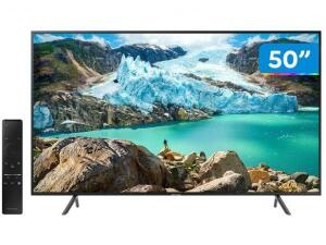"Smart Tv Led 50"" Samsung 4K UHD Com Conversor Digital, WIFI Integrado - UN50RU7100GXZD | R$ 1.789"