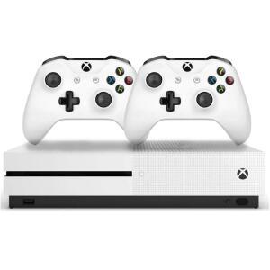 Console Xbox One S 1tb 4k 2 Controles Branco - Microsoft - R$1.595